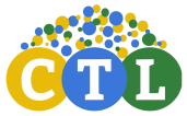 Center for Teaching & Learning Logo; overlapping circles demonstrating the interconnectedness of the CTL's mission to support teaching and learning.
